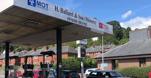 More details released on Ballard's forecourt damage