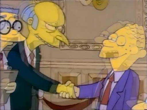 Los Simpsons 1x04 Una familia modelo