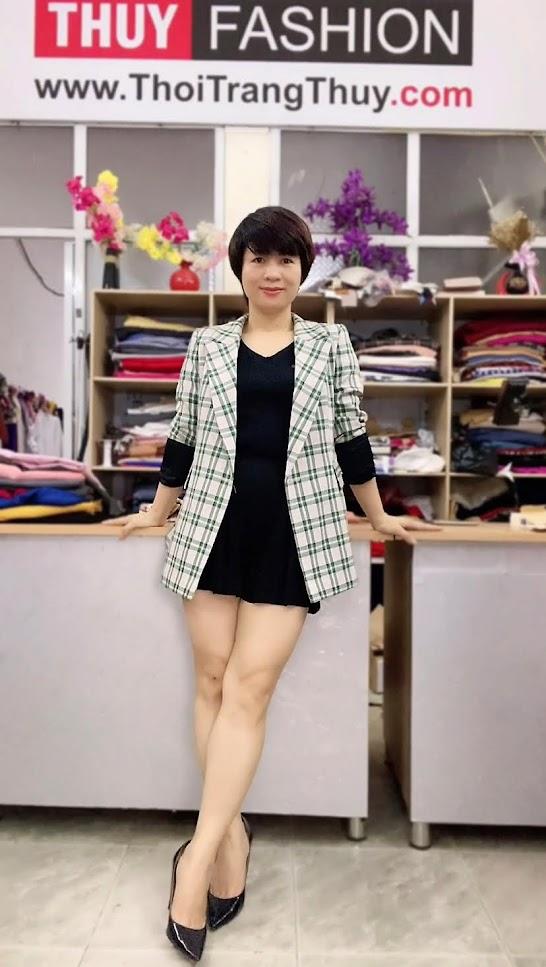Chú ý lựa chọn áo vest nữ kẻ caro V736 thời trang thủy đà nẵng