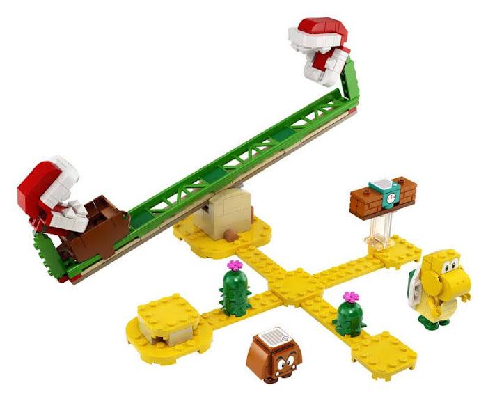 Contenido de Lego® 71365 Set de Expansión: Superderrape de la Planta Piraña