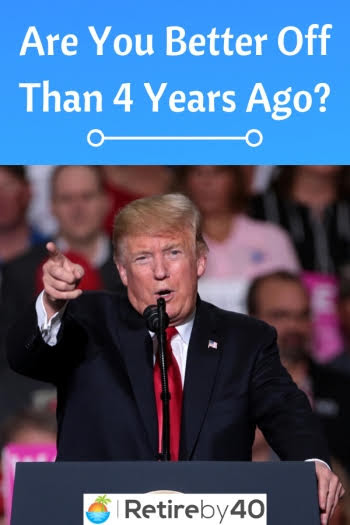 Are You Better Off Than 4 Years Ago? 2020 edition