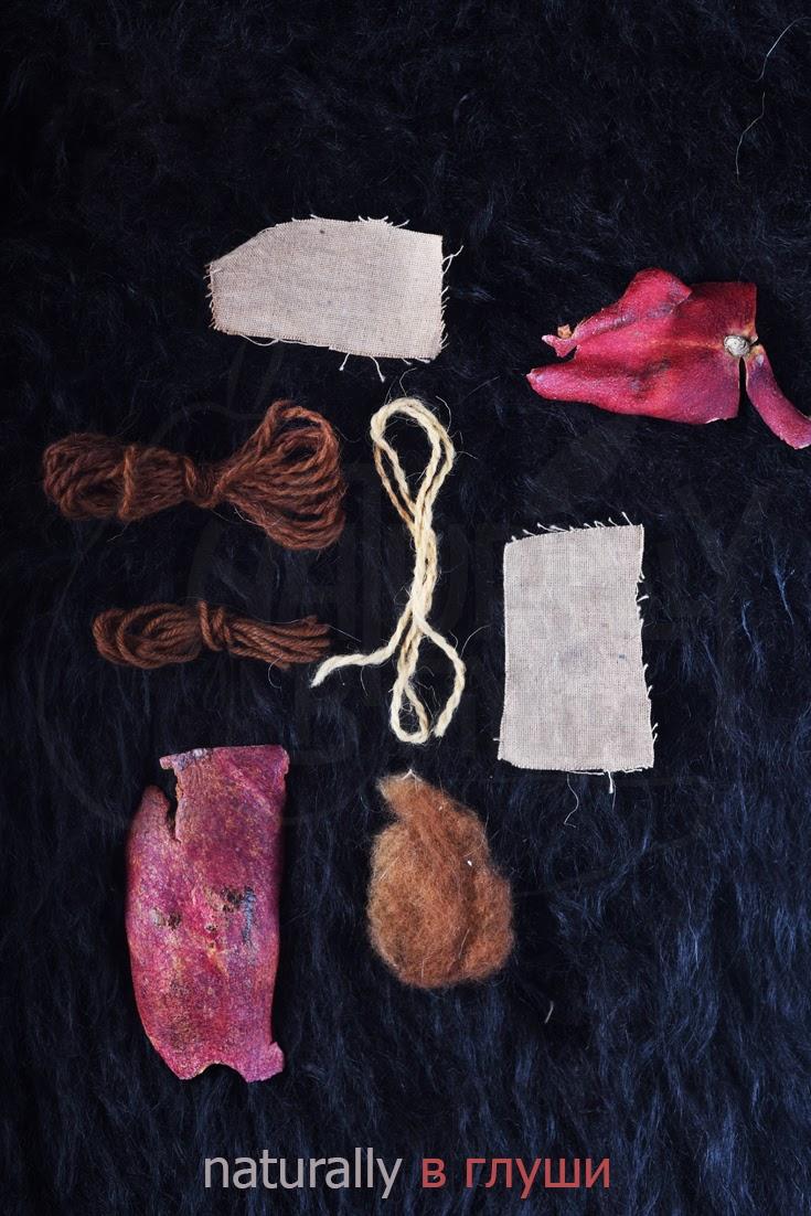 Натуральное окрашивание корками граната | Блог Naturally в глуши