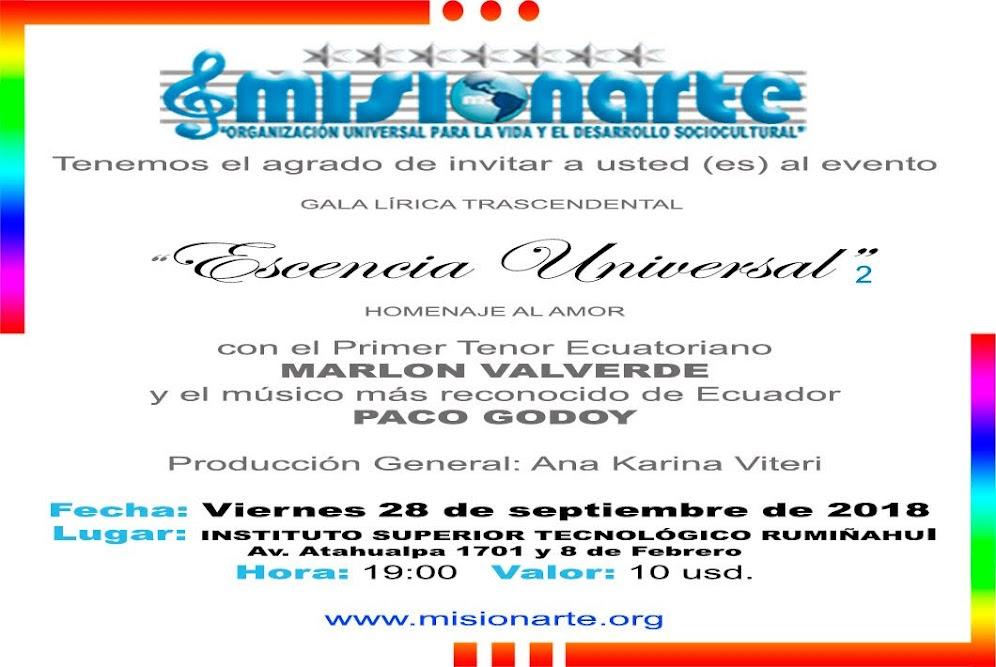 INVITACION ESCENCIA UNIVERSAL 2