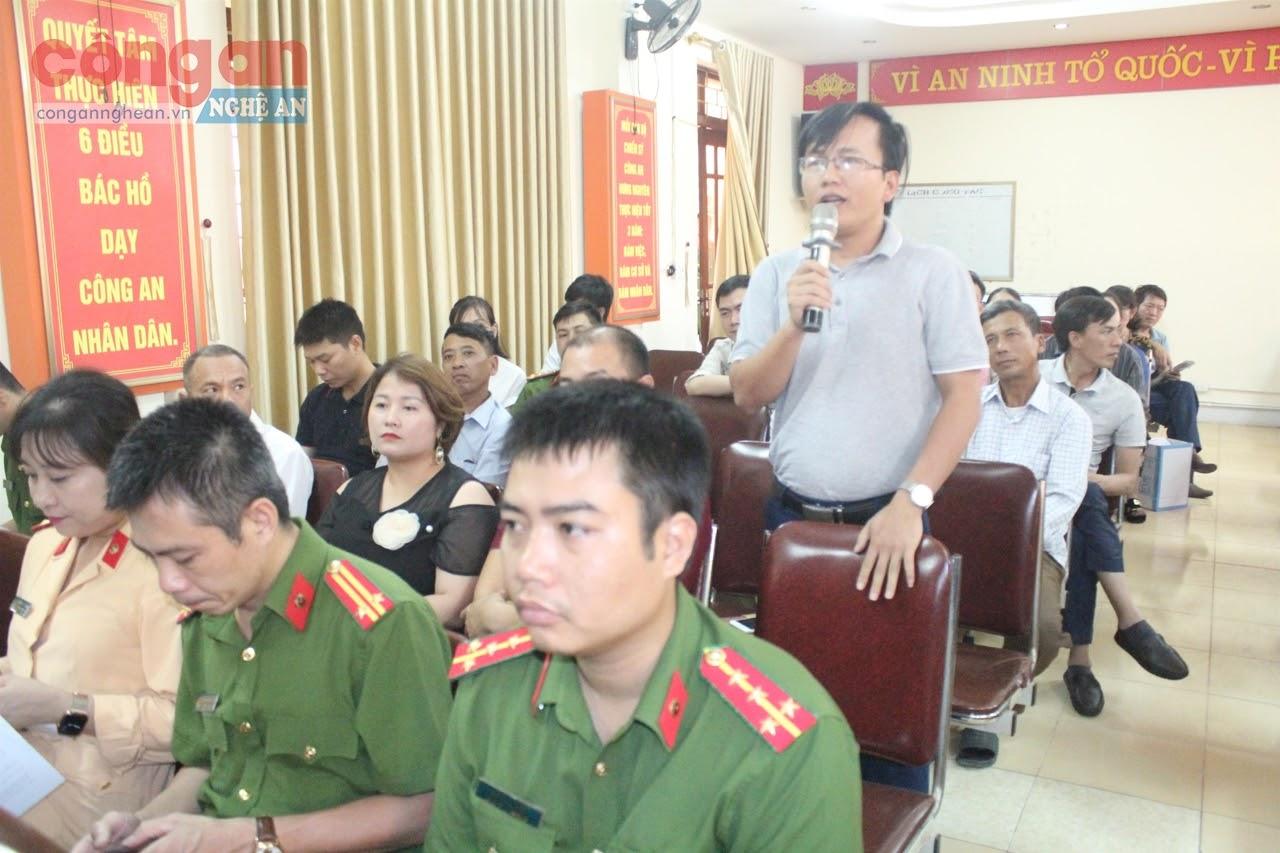 Hội nghị ghi nhận nhiều ý kiến, thắc mắc  của các cơ sở
