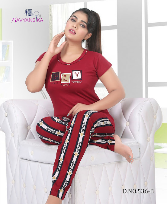 Kavyansika Vol 536 Women Night Suits Catalog Lowest Price