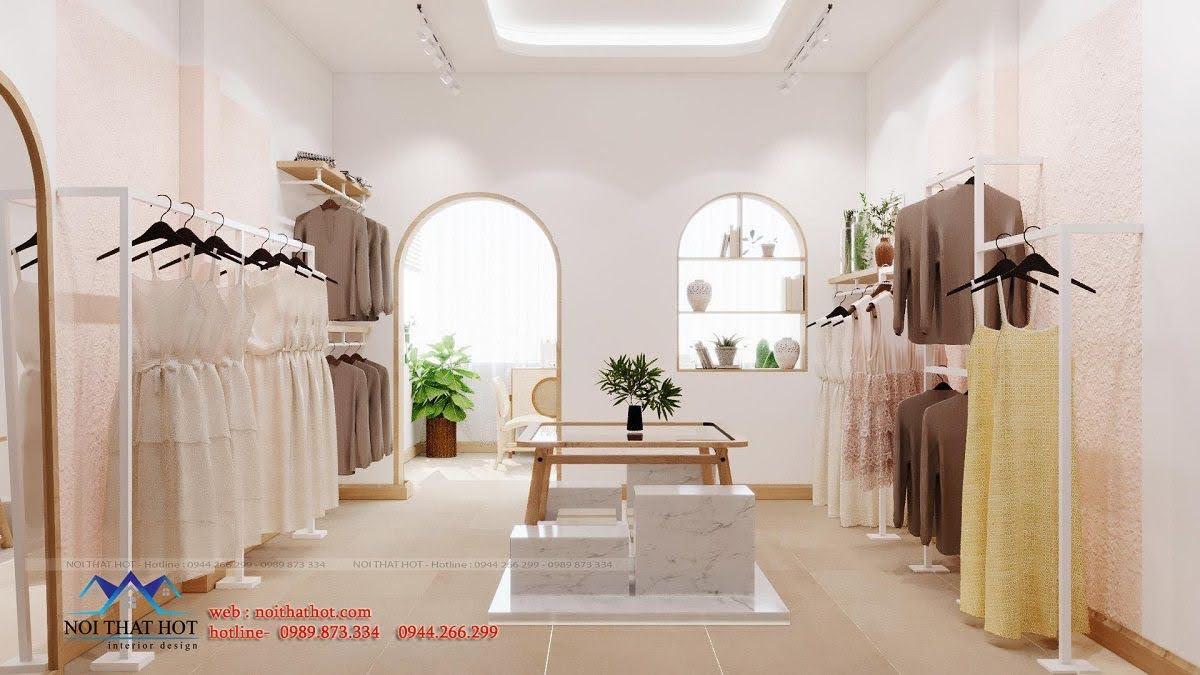 Thiết kế shop thời trang nữ Hàn Quốc