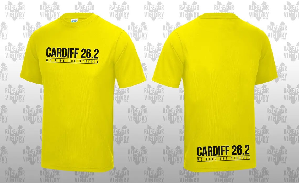 Cardiff Cyclothon - Yellow Jersey