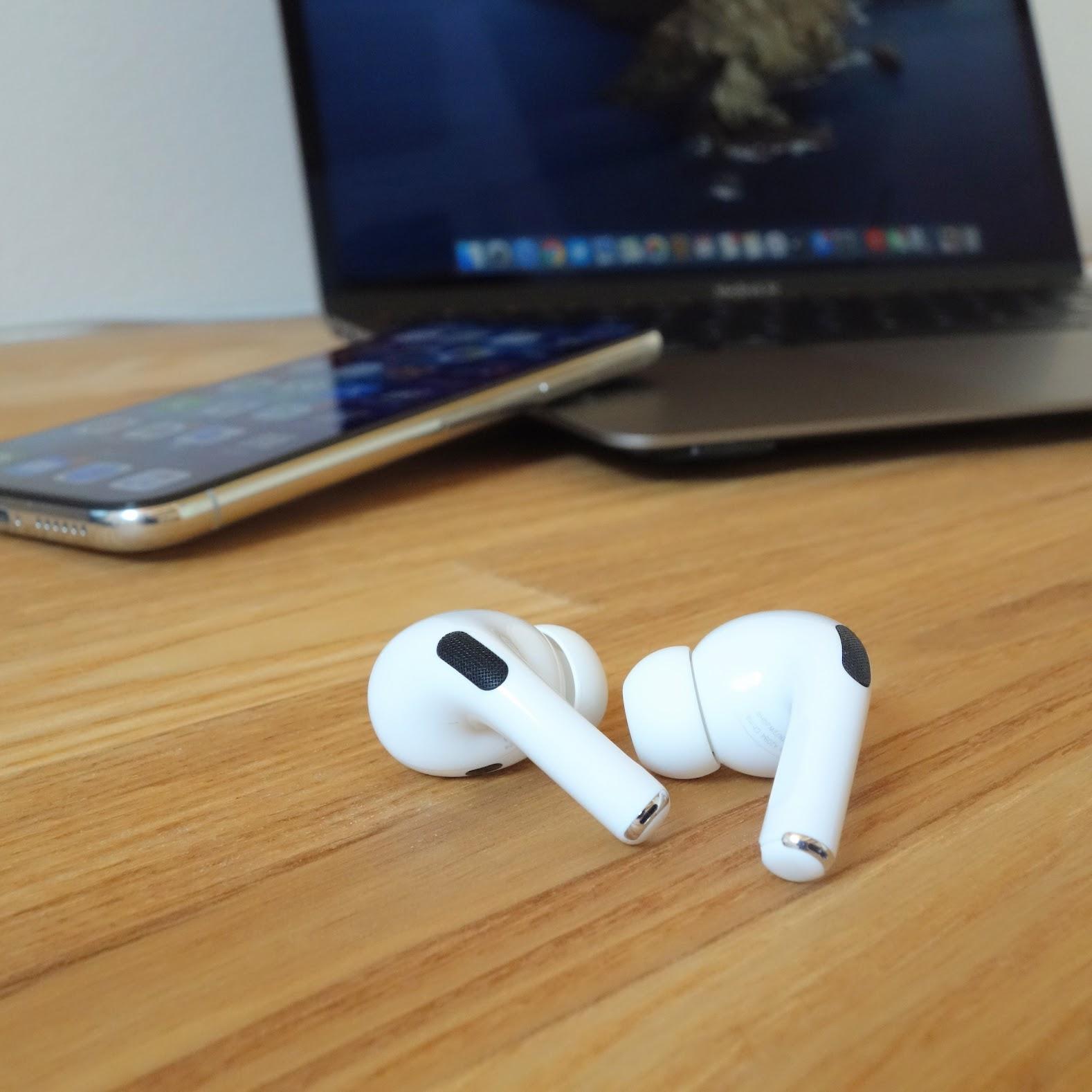 EarPods レビュー MacBook AirとiPhoneを切り替える写真