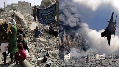 52 Ribu Warga Gaza Telantar Akibat Gempuran Israel, Serangan Pilot Dibatalkan Karena Melihat Anak-anak