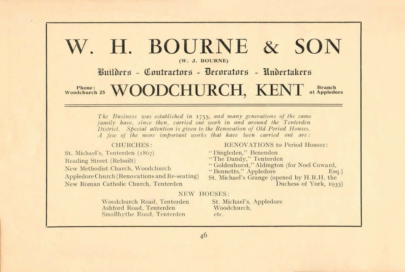 Tenterden and District Guide 1936