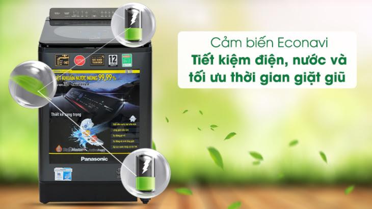 Cảm biến Econavi trên máy giặt Panasonic Inveter FD125V1BV