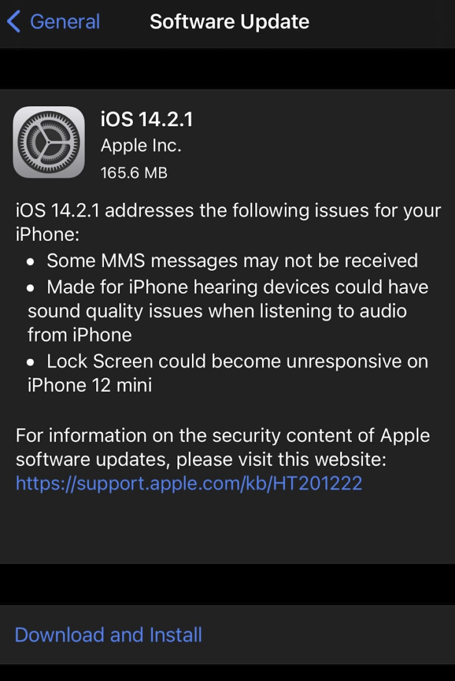 Download and Install the latest software update for iPhone/iPad