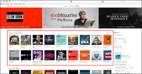 Once iTunes approves your podcast, you have 8 weeks to make an impression in the New and Noteworthy section