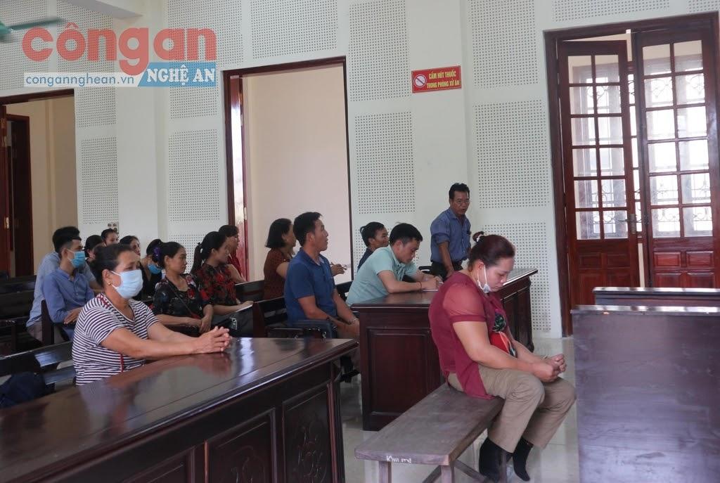 Bị cáo Mạc Thị Lệ Quyên tại tòa