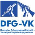 DFG-VK Logo: Zerbrochendes Gewehr.