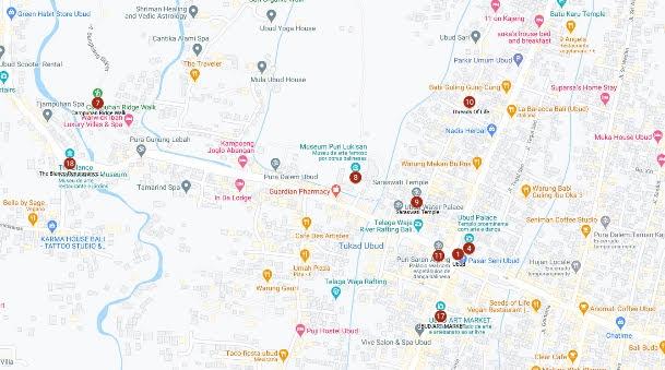Ubud Map2
