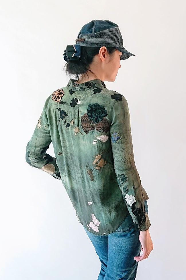 Wearing Boro Shirt - Accidentally Boro Shirt   FAFAFOOM STUDIO