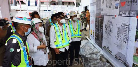 Mega Proyek pasar besar Ngawi Jawa timur