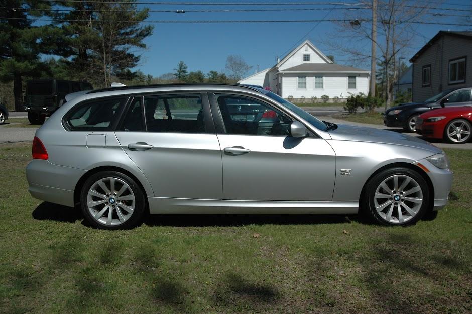 2012 BMW 328xi Wagon Silver