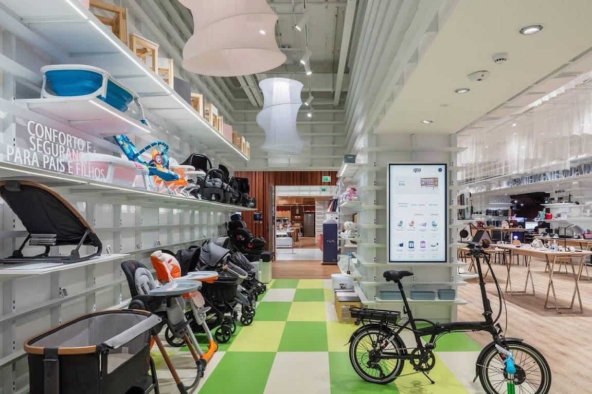 thiết kế cửa hàng gia dụng