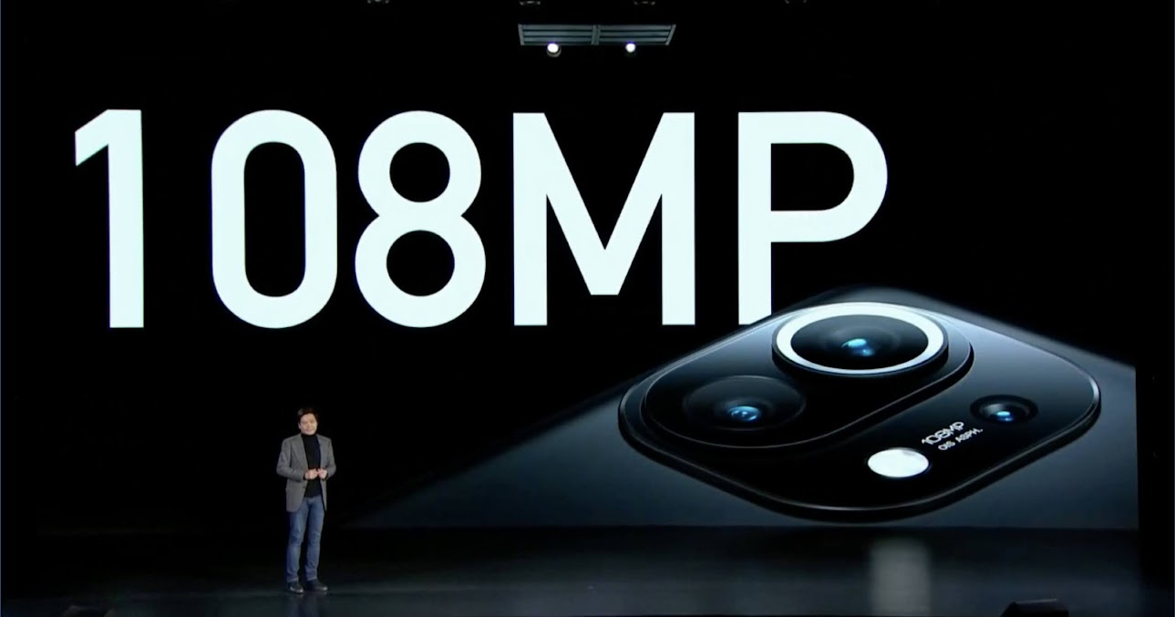 Xiaomi Mi 11 câmara de 108MP