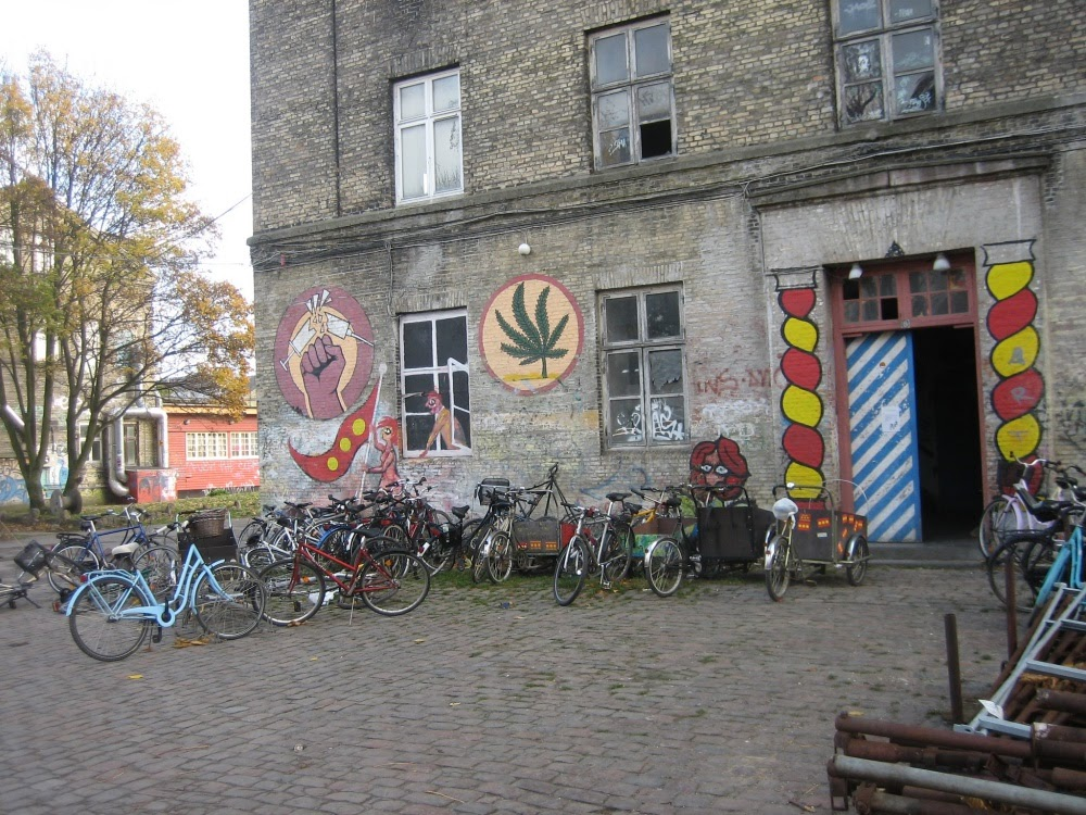 Christiania, a cidade hippie da Dinamarca
