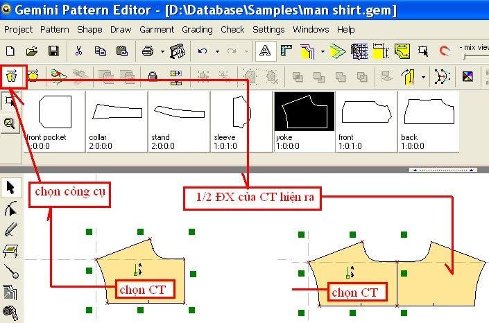 Gemini Pattern Editor Chức Năng Các Lệnh – Phần 2 4