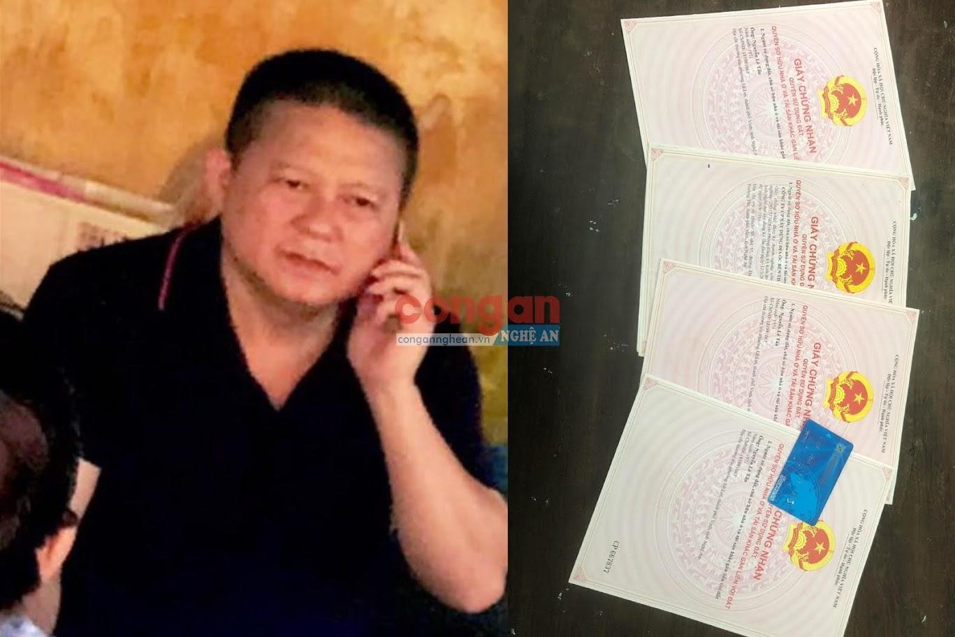 Đối tượng Nguyễn Lê Tân cùng một số tang vật  trong chuyên án