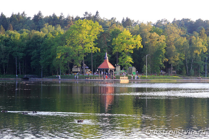 Мельничный пруд - озеро Тихое