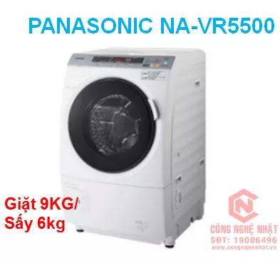 MÁY GIẶT CỬA TRƯỚC PANASONIC NA-VR5500 NỘI ĐỊA NHẬT MỚI 95%(C)