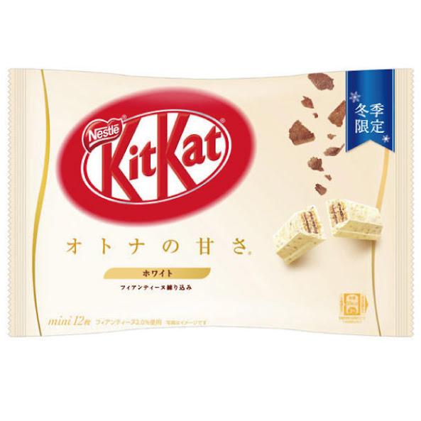 Kitkat chocolate trắng