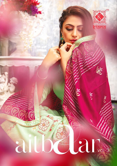 Buy Kiana Aitbaar Vol 3 Stitched Salwar Suits Catalog Online