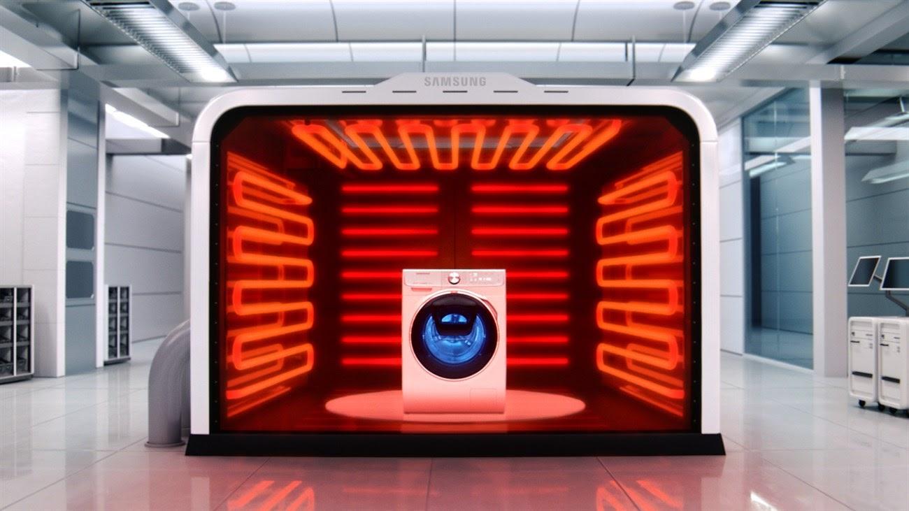 Lý do để chọn mua máy giặt của Samsung vì có khả năng chịu nhiệt