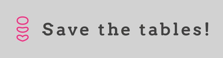 Savethetablesロゴ