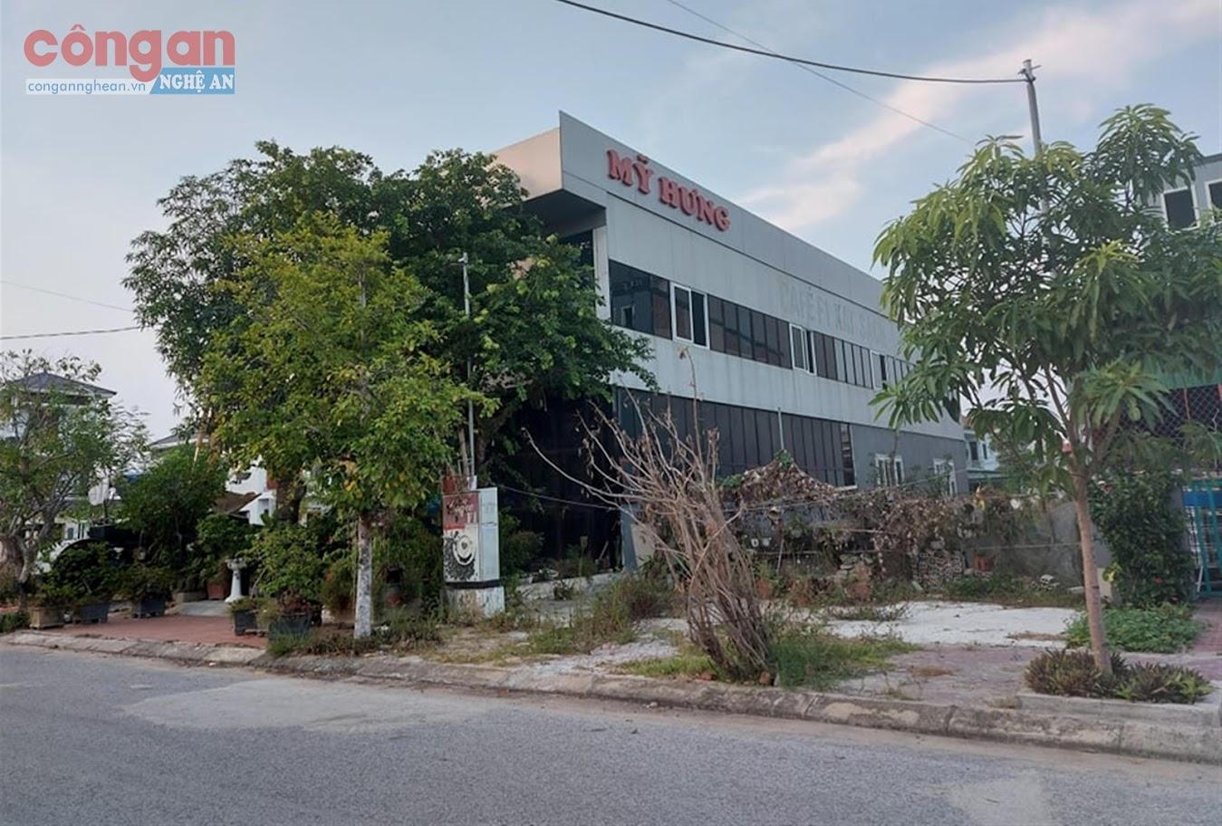 Phòng khám bệnh ngoại khoa tư nhân Mỹ Hưng          biến thành Phòng khám thẩm mỹ Vũ Hùng