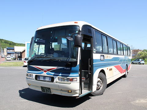 沿岸バス サロベツ線・822 豊富駅発車待ち
