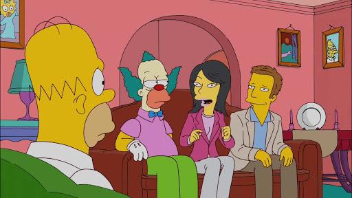 Los Simpsons 23x07 El hombre de los pantalones azules