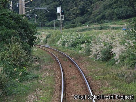 JR東日本 羽越本線 GV-E401・E402形(村上~酒田) 車窓_01
