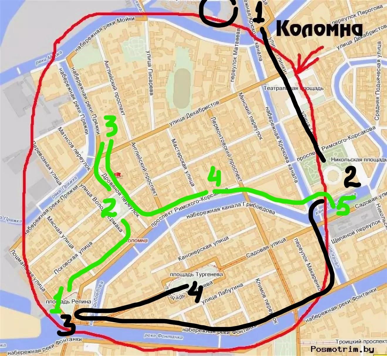 Две прогулки вокруг Коломны, или к Блоку на Пряжку, сентябрь, 2020