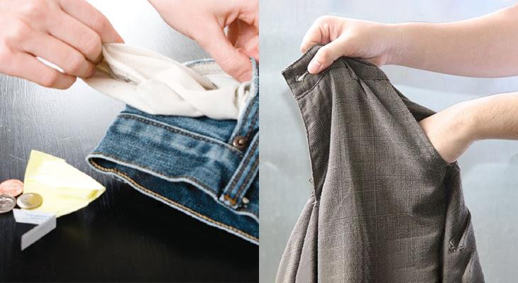 Kiểm tra kỹ vật dụng trong túi