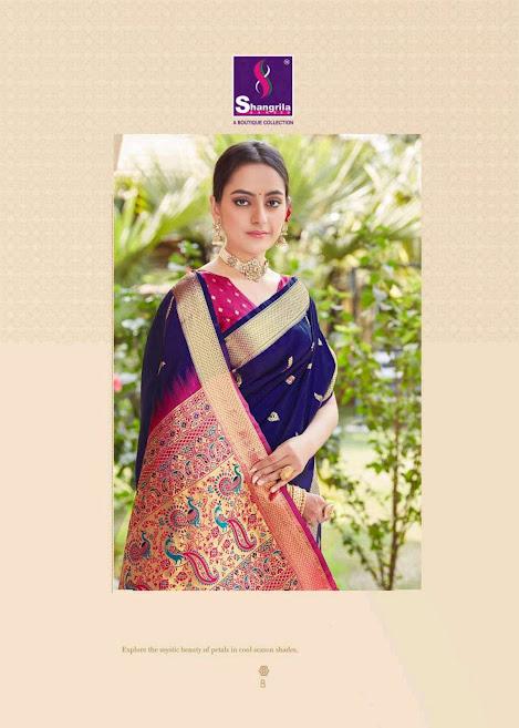 Shangrila Kaushalya Silk Sarees Catalog Lowest Price