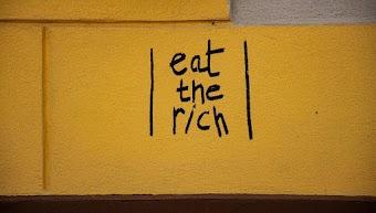 Grafito: «eat the rich»-