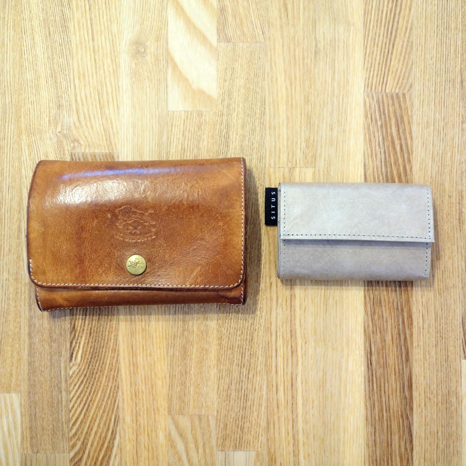 SITUS ミニマリストウォレット 革の財布との比較