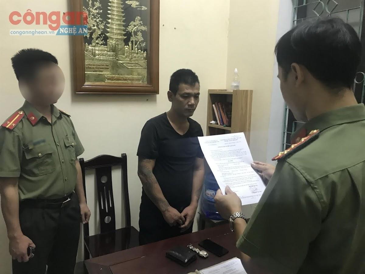 Cơ quan An ninh điều tra đọc lệnh bắt bị can để tạm giam                                                 đối với Nguyễn Văn Lâm