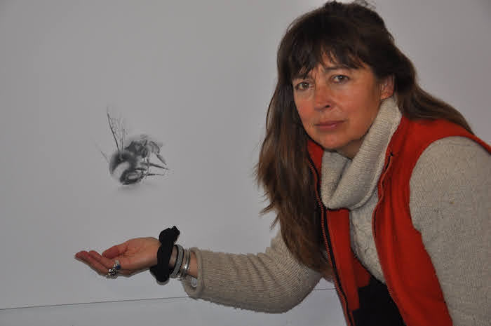 Author Jay makes a 'bee' line to arts centre