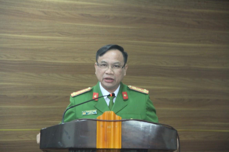 Đại tá Phan Đình Thành, Giám thị Trại giam số 3 phát biểu