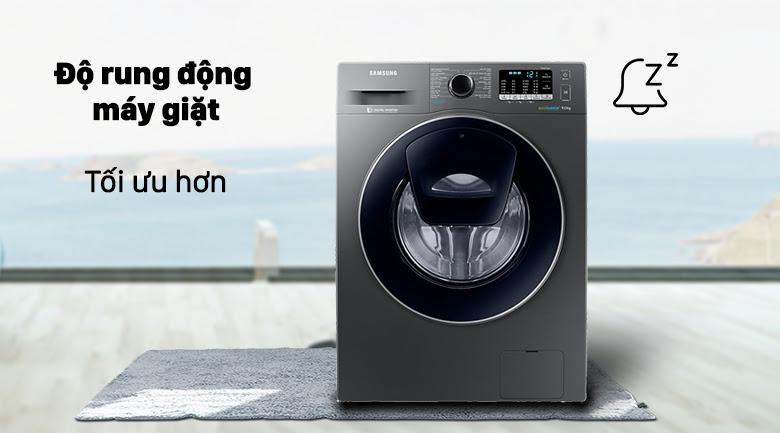 Công nghệ VRT Plus tối ưu về độ rung động của máy giặt