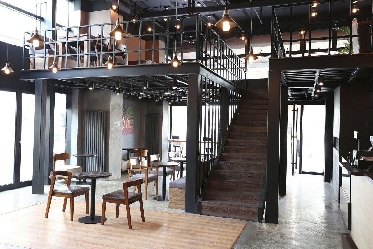 Thiết kế nội thất quán cafe 200m2