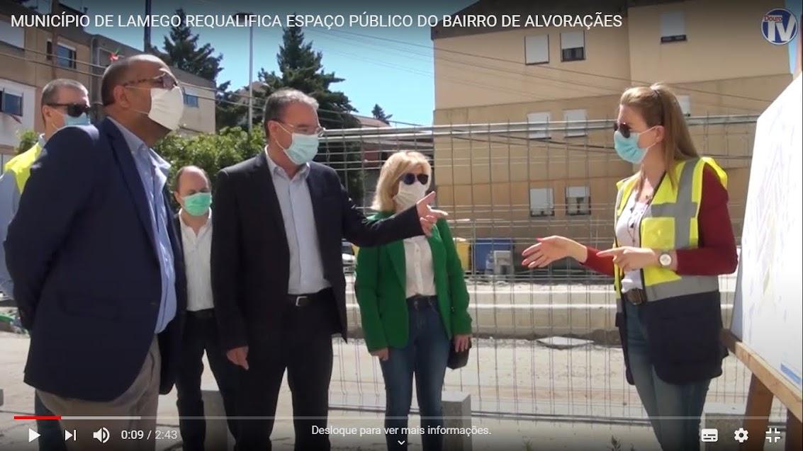 Vídeo - Município de Lamego requalifica espaço público do Bairro de Alvoraçães