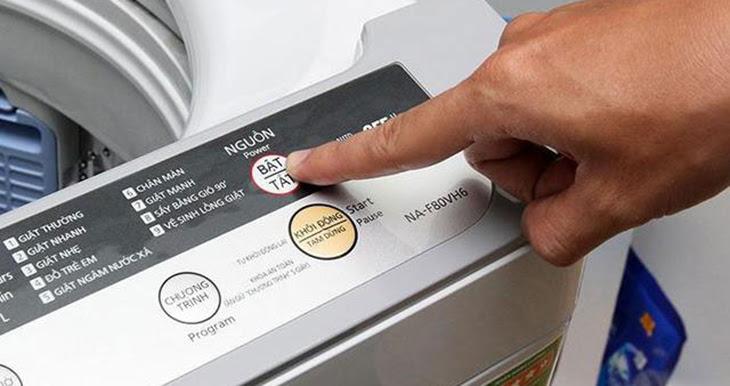 Tắt nguồn điện máy giặt